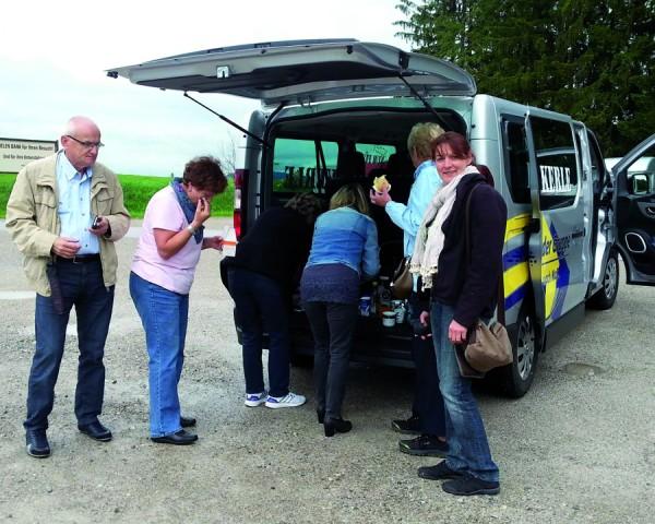 Ausflug Gut Aiderbichl mit Minibus
