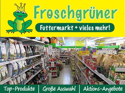 Froschgrüner Futtermarkt