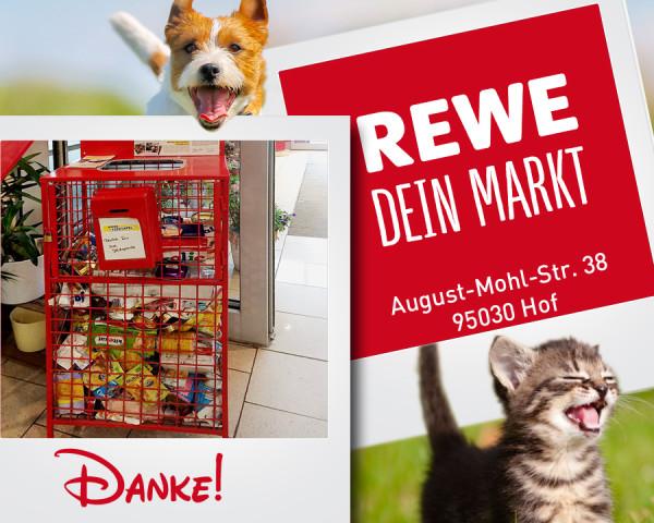 REWE Markt Futterbox